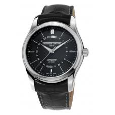 FREDERIQUE CONSTANT - Classique 24 Black Automatic - Pánske hodinky
