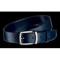 S.T. DUPONT - Line D Leather Deep Blue FH Belt 35 - Luxusný opasok