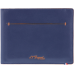 S.T. DUPONT - Line D SLIM Porte-Billets 7CC Blue/Or. - Ultra tenká peňaženka na karty
