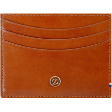 S.T. DUPONT - Line D CC Holder Brown - Puzdro na karty